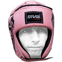 Farabi Hearガードボクシング総合格闘技タイ式ワークアウトPractice、フル面HeadguardヘッドプロテクターヘッドギアボクシングヘルメットMartial ArtsヘルメットKickboxing Jiu Jitsu Karate