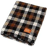 西川リビング 毛布 ブラック 140×200㎝ BEAMSDESIGN ビームス デザイン BM11 2020-08793