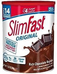 海外直送品 SlimFast スリムファースト 2個セット ロイヤルチョコレートシェーク884g [並行輸入品]