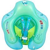 Eldori 子供用 浮き輪 新しいセルフツアーベビーベビースイミングリング 赤ちゃん 浮き輪 ベビー 胴回り ボディリング 幼児 スイムリング フロート キッズ 知育用具 お風呂水泳用 ボート フロート玩具 水泳リング 水泳赤ちゃん子供フロート水泳リング安全水泳トレーナー水のおもち (12-36 Months)