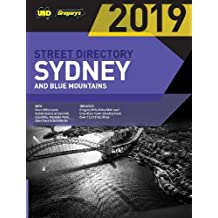 Sydney & Blue Mountains Street Directory 2019 55th ed