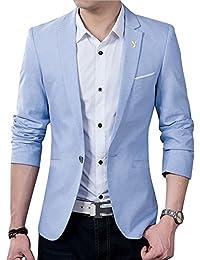 春 夏 テーラードジャケット メンズ ジャケット シングル スーツジャケット 1つボタン 無地 サマージャケット メンズ 大きいサイズ