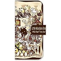 For docomo au softbank iPhone 6 ダイアリーケース 手帳型 スマホケース ジアン jiang オシャレ かわいい イラスト Little Kingdom story 25-ip6-ds0057
