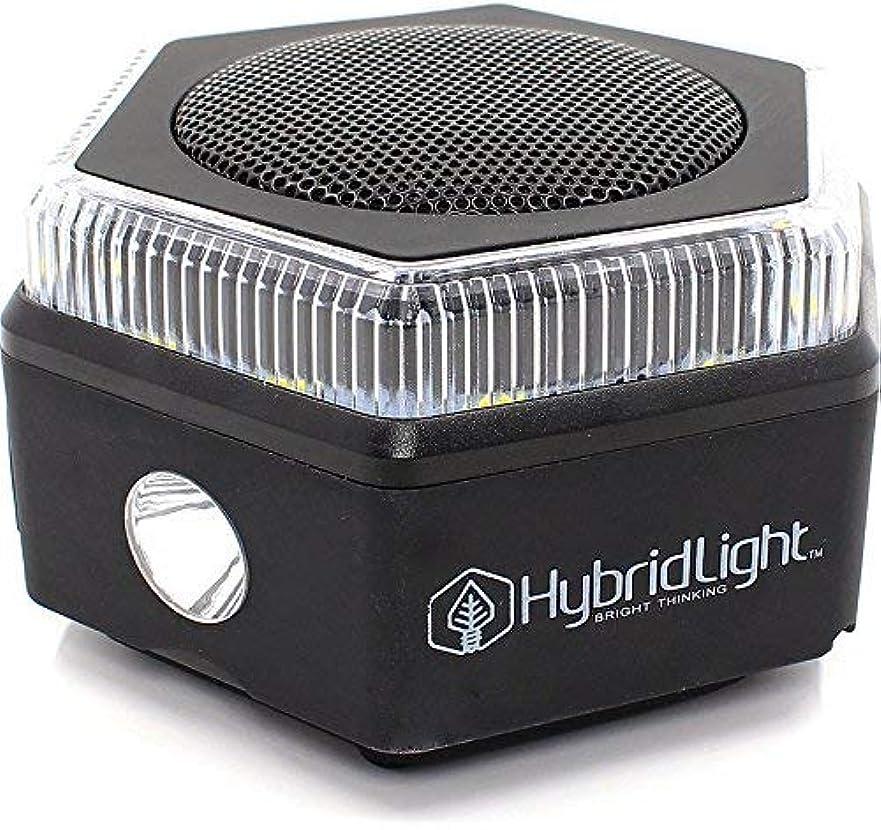 どれカイウスエゴイズムHybridlight HEX Bluetooth Speaker, 400 Lumen Flashlight, Lantern, FM Radio, Micro SD Card Reader. Charge Out to Cell Phones. Solar Panel Charges Indoors or Out. Quick Charge Using Included USB Cable [並行輸入品]