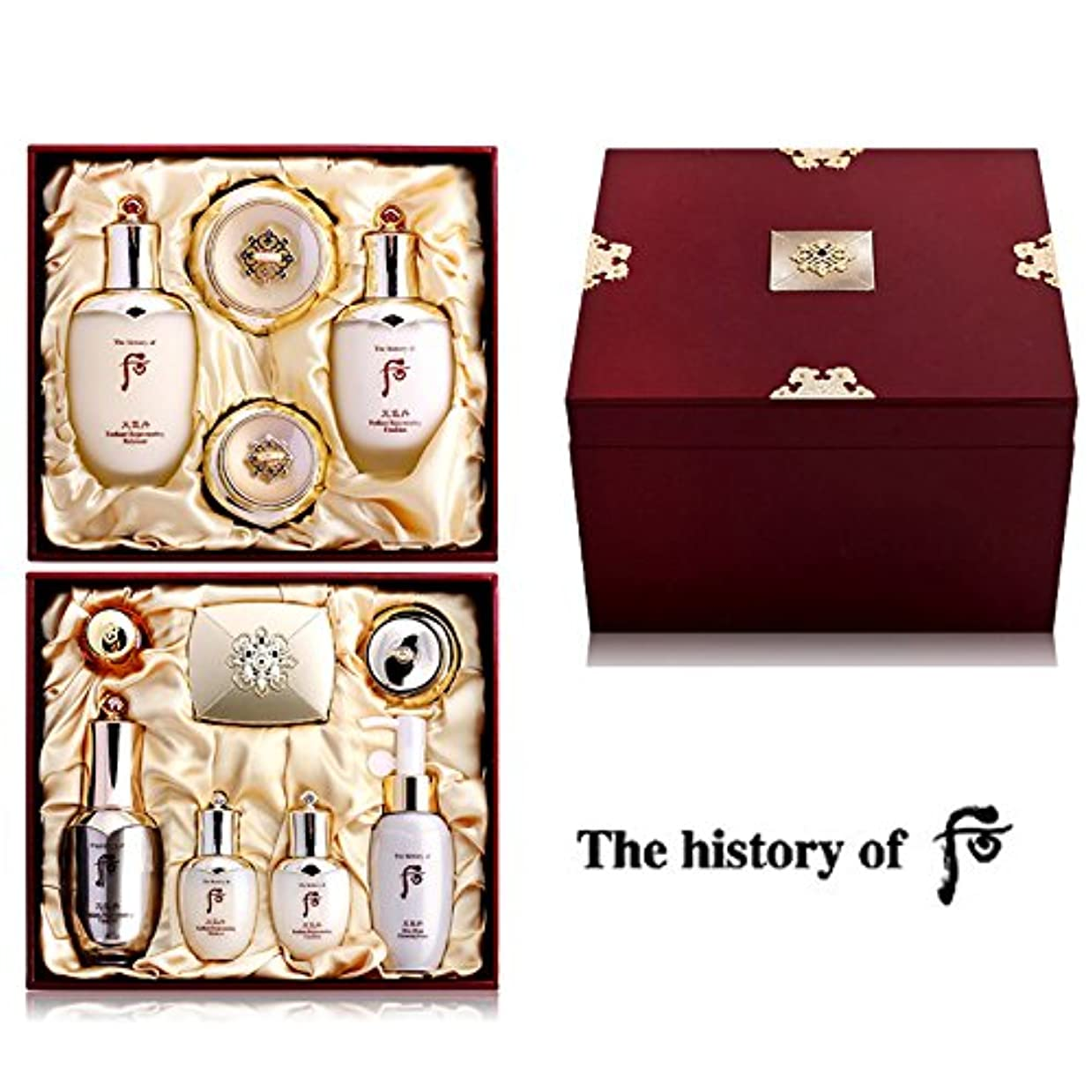 無し反響する途方もない【フー/The history of whoo] 天気丹 王侯(チョンギダン ワンフ) セット/Chonghi Dan Queen Special Set+[Sample Gift](海外直送品)