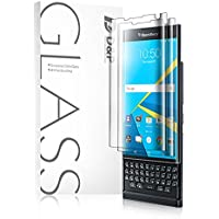 (ディー&ピー)D&P BlackBerry Priv 全面TPU液晶保護フィルム 超薄0.1mm HD画面 指紋防止 耐衝撃 貼り付け簡単な保護フィルム 3枚付き (クリア)