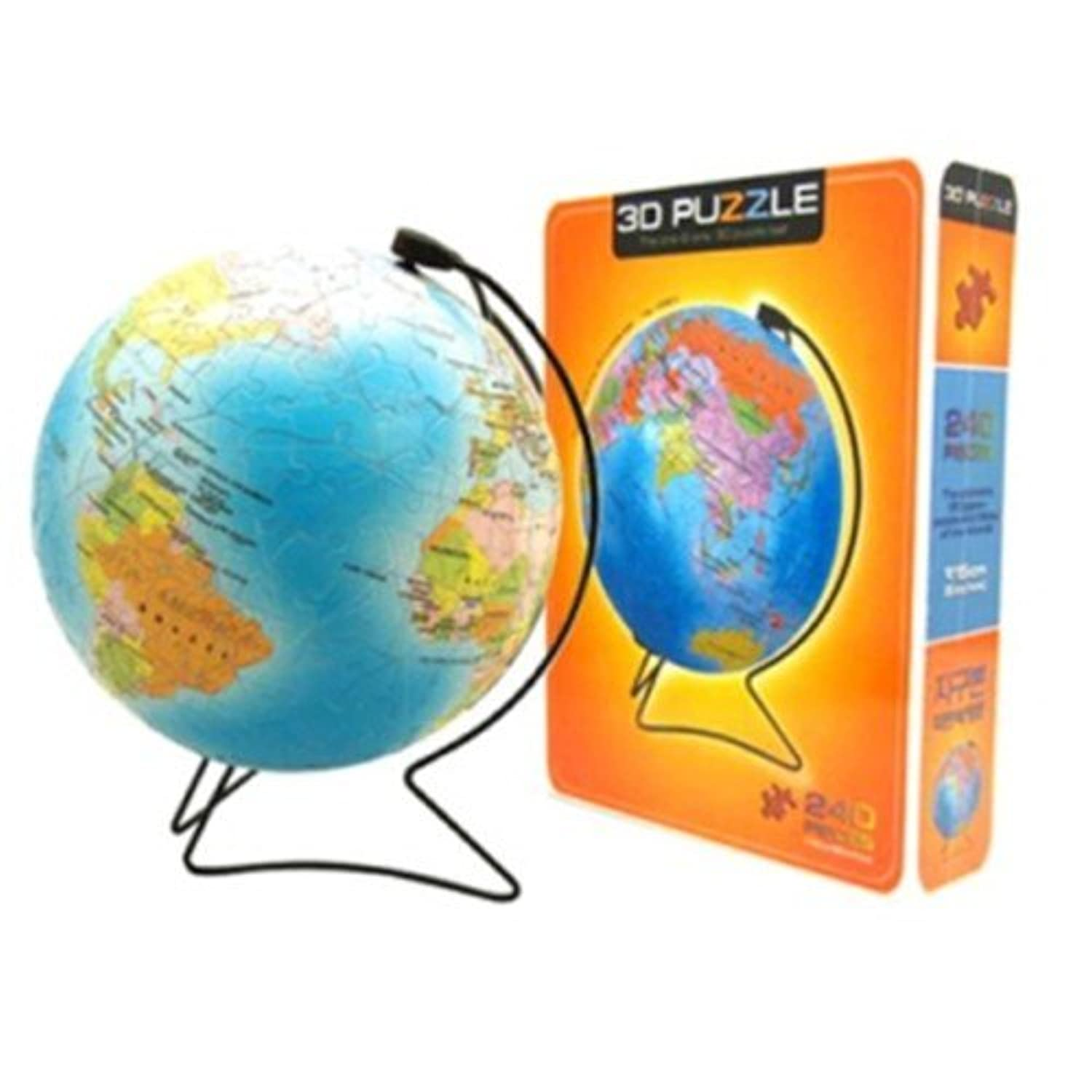 3d Puzzle - 6inch Blue earth V stand