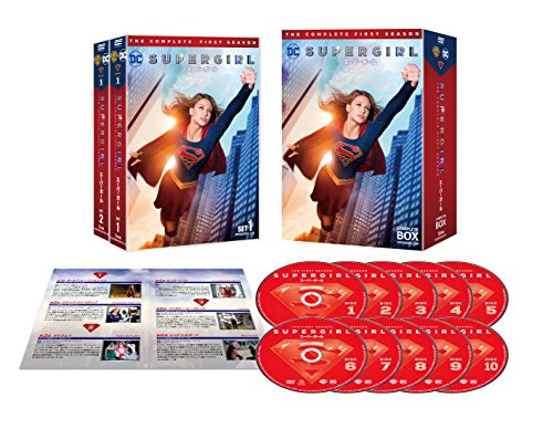 SUPERGIRL/スーパーガール 〈ファースト・シーズン〉 コンプリート・ボックス (10枚組) [DVD]