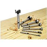 Freud 7 Pcs. Precision Shear Precision Shear Serrated Edge Forstner Drill Bit Set 1/4 In. to 1 In. (PB-107B)