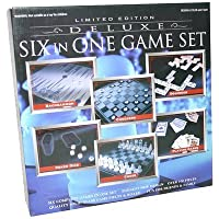 Deluxe Limited Edition 6 games in 1 Glass Game Set by Deluxe [並行輸入品]