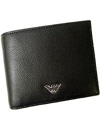 (アルマーニ)ARMANI 財布 エンポリオアルマーニ 二つ折 (ブラック) YEM122 YAQ2E 81072 A-2386 [並行輸入品]