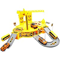 Construct Base Engineering - features a brilliant construction site model - for little boys and girls providing them with excellent experience of construction site world in a educational manner.