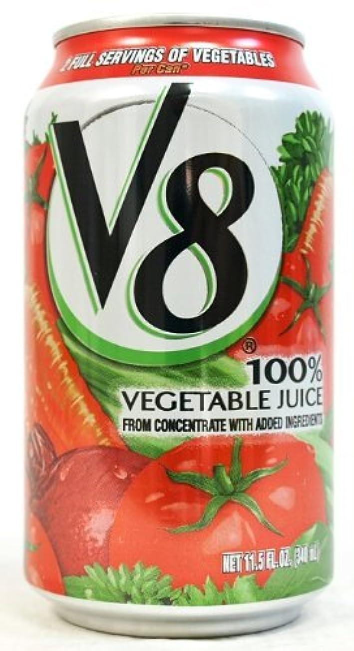 マトロン群集泥棒Campbell キャンベル V8 野菜ジュース 340ml 24本セット