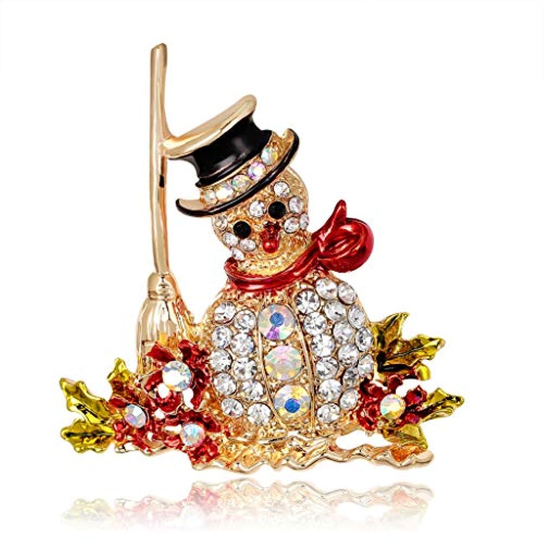 Kofun ブローチ, 新しい到着クリスマスブローチ雪だるまジュエリー女性のギフトの装飾ピン クリスマスの雪だるまのブローチ