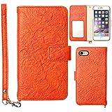 モバイルプラス Galaxy Note 3 SCL22 ケース スマホケース 手帳型 ストラップ カード 収納 カバー オレンジ a66245651