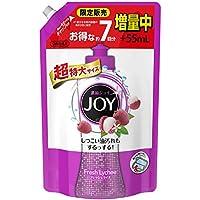 ジョイ コンパクト 食器洗剤 フレッシュライチ 詰め替え 超特大増量 1120 mL
