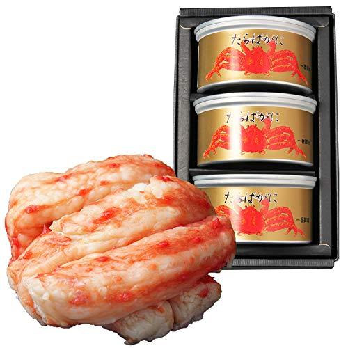 マルヤ水産『たらばがに棒肉詰缶詰(一番脚肉100%)』
