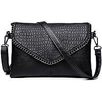Fanspack Womens Crossbody Bag Envelope Messenger Shoulder Bag Satchel Bag Purse for Ladies