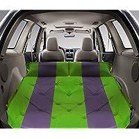 GYP SUV車のインフレータブルベッド、屋外多機能自動インフレータブルパッドのトランクインフレータブルベッドカーショックベッド192 * 132センチメートルは、縫うことができます ( 色 : 緑 , サイズ さいず : 192*132*3CM )