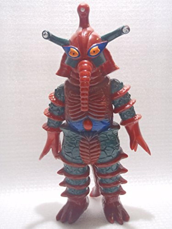 円谷 ウルトラ ソフビ ウルトラ怪獣  ウルトラマンA(エース) ヒッポリト星人 日本製 約18cm