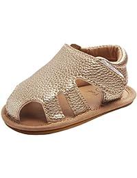 Kesoto ベビーサンダル ベビーシューズ 女の子 トレーニングシューズ ベビー靴 夏 軽量 サンダル 全3色