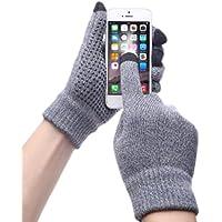 アウトドアスポーツサイクリング運転Iphone手袋ファッション暖かいタッチスクリーン手袋for Men and women-gray02