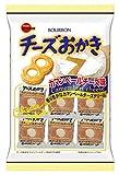 ブルボン チーズおかきカマンベールチーズ味 21枚 ×6袋