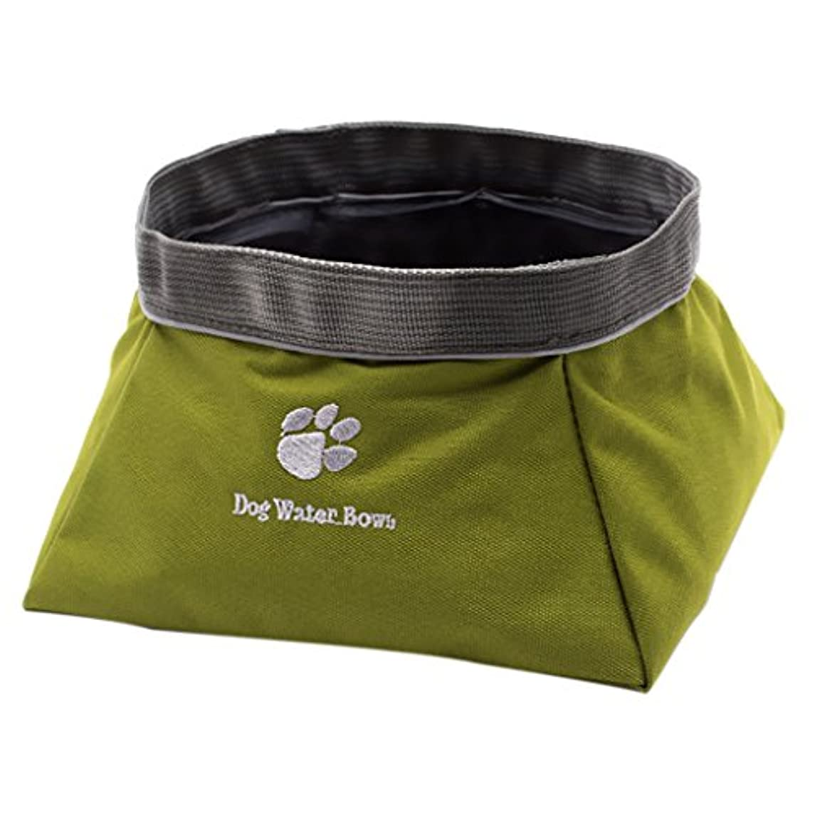 みがきますアヒル瞑想するPerfk 犬 猫 食品 水 ボウル 折りたたみ 防水 実用的 全2種  - 食べ物と水のボウル