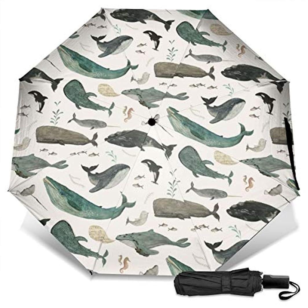 ライオン摂動インタフェースクジラの歌日傘 折りたたみ日傘 折り畳み日傘 超軽量 遮光率100% UVカット率99.9% UPF50+ 紫外線対策 遮熱効果 晴雨兼用 携帯便利 耐風撥水 手動 男女兼用