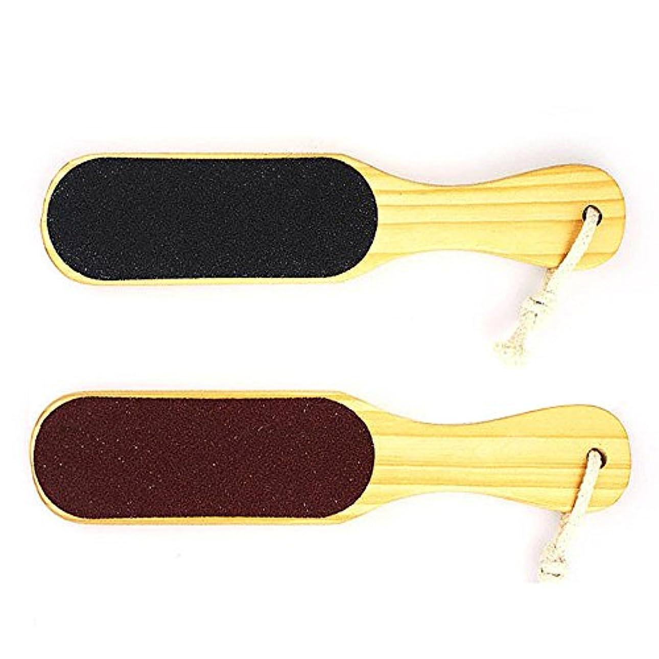閃光疎外する不機嫌そうなFinlon 多機能 ツインヘッド角質取り器 足裏 角質除去 かかと 角質ケア かかとケア 足ケア 両面サンドペーパー かかとやすり フット用品