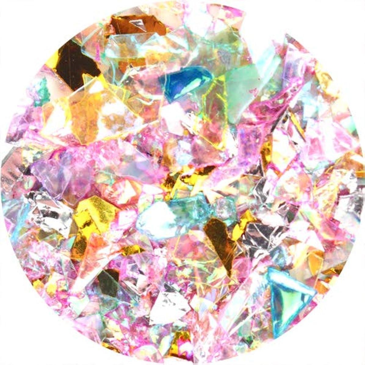 カタログのため気をつけてSARURU ハピホロ ミックスクラッシュホログラム ピンクMIX 【アート?ネイル用品】