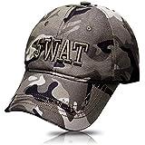 Catsobat タクティカルキャップ サバゲー 特殊部隊 ミリタリーキャップ SWATコスプレ (迷彩(SWAT))