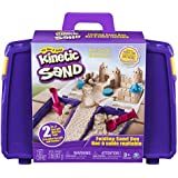 Kinetic Sand The One and Only Kinetic Sand, Folding Sand Box with 2Lbs of Kinetic Sand