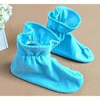 HuaQingPiJu-JP 子供の日かわいいショーコスチュームアクセサリー動物靴(青)