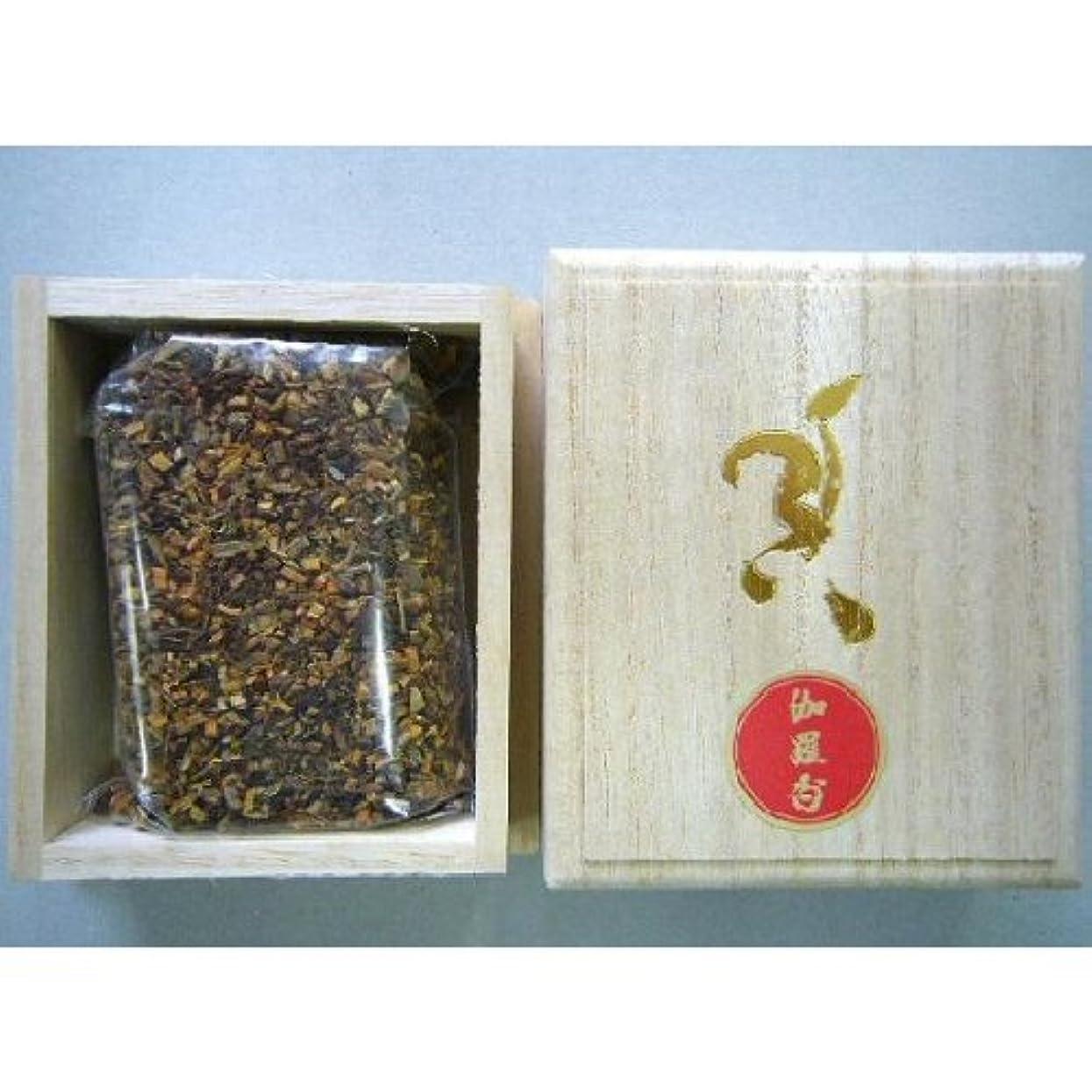 ヘビー同化する盆焼香 伽羅香30g桐箱入り 抹香