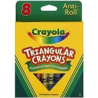 Crayola Llc Crayola Triangularクレヨン8 Count 52-4008
