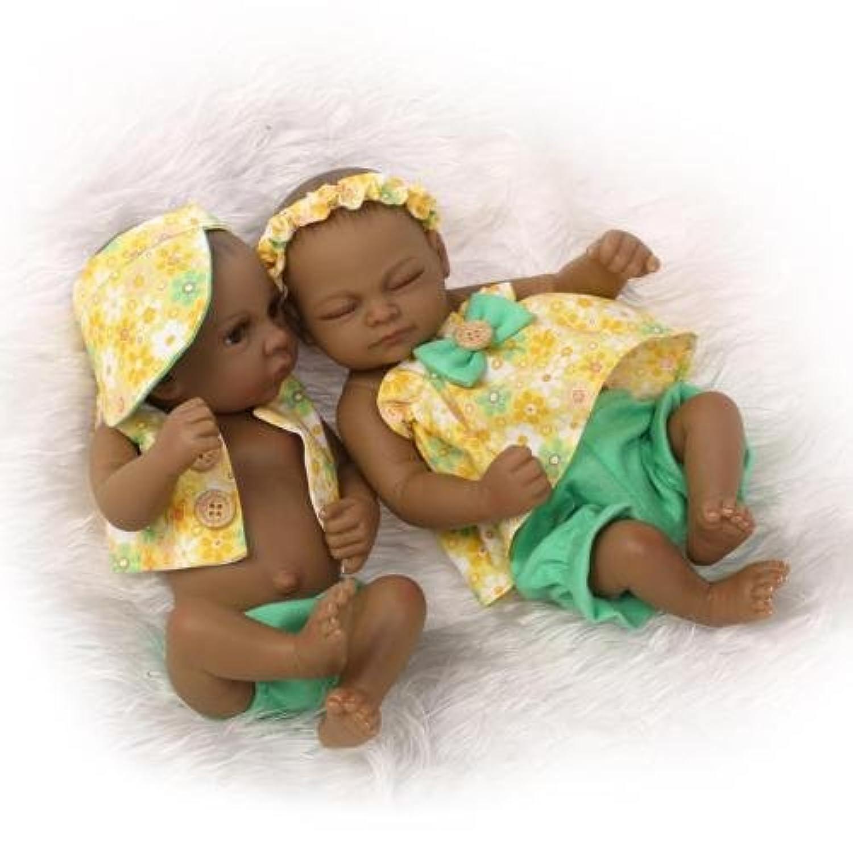 シミュレーションのペアをReborn Babyベビー人形Lifelike Baby Little Baby Doll 11