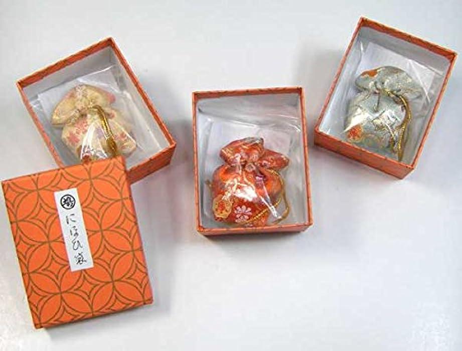 禁止伝統的パール鳩居堂 にほひ袋 金襴(巾着型) 1個入り (鳩703)