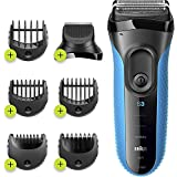 Braun Series 3 Shave & Style 3010BT 3-in-1 Electric Shaver / Razor with Precision Beard - Wet & Dry
