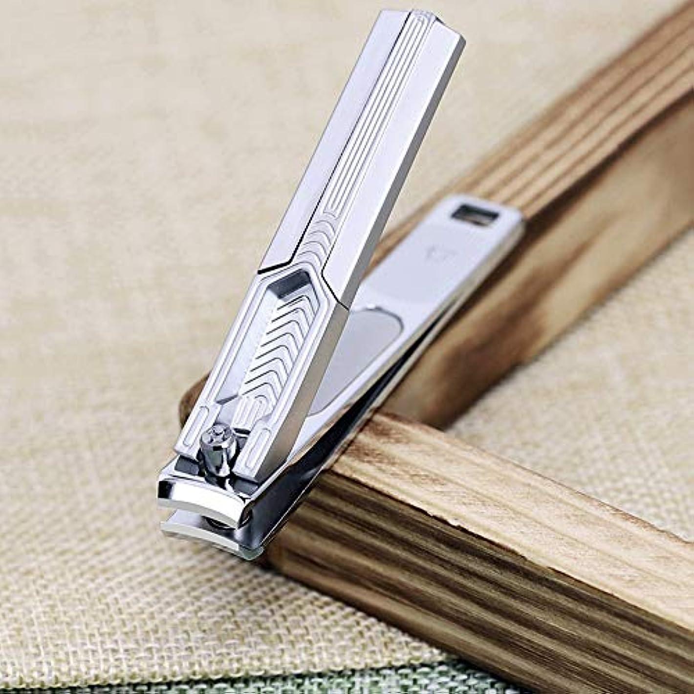 ニコチン累積アデレードネイルクリッパーセット、爪&足の爪切り、大人のための耐久性のある鋭いステンレス鋼のネイルカッター Blingstars