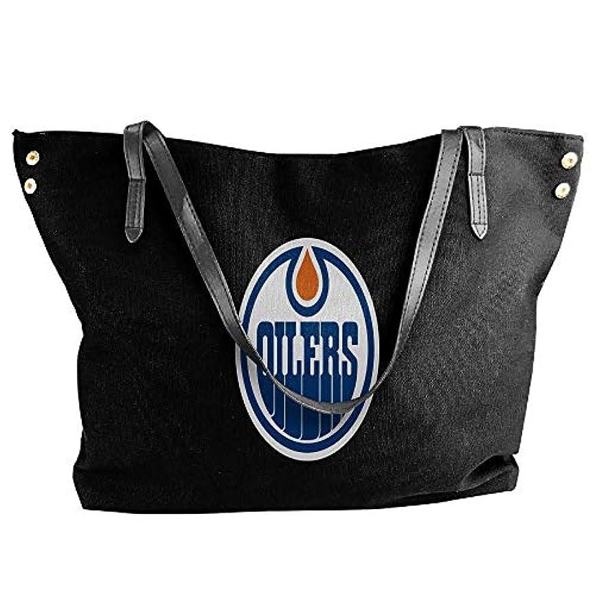 嘆願気絶させる液体2019最新レディースバッグ ファッション若い女の子ストリートショッピングキャンバスのショルダーバッグ Edmonton Oilers Originals 人気のバッグ 大容量 リュック