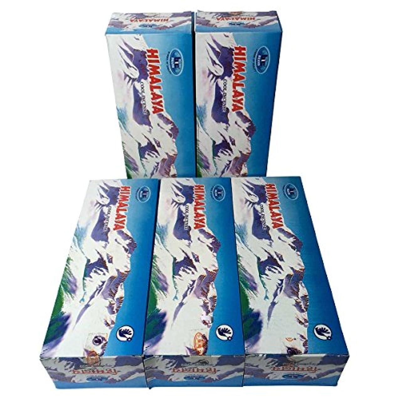 バラバラにする巧みななめるヒマラヤ香スティック 5BOX(30箱)/BIC HIMARAYA/ インド香 / 送料無料 [並行輸入品]