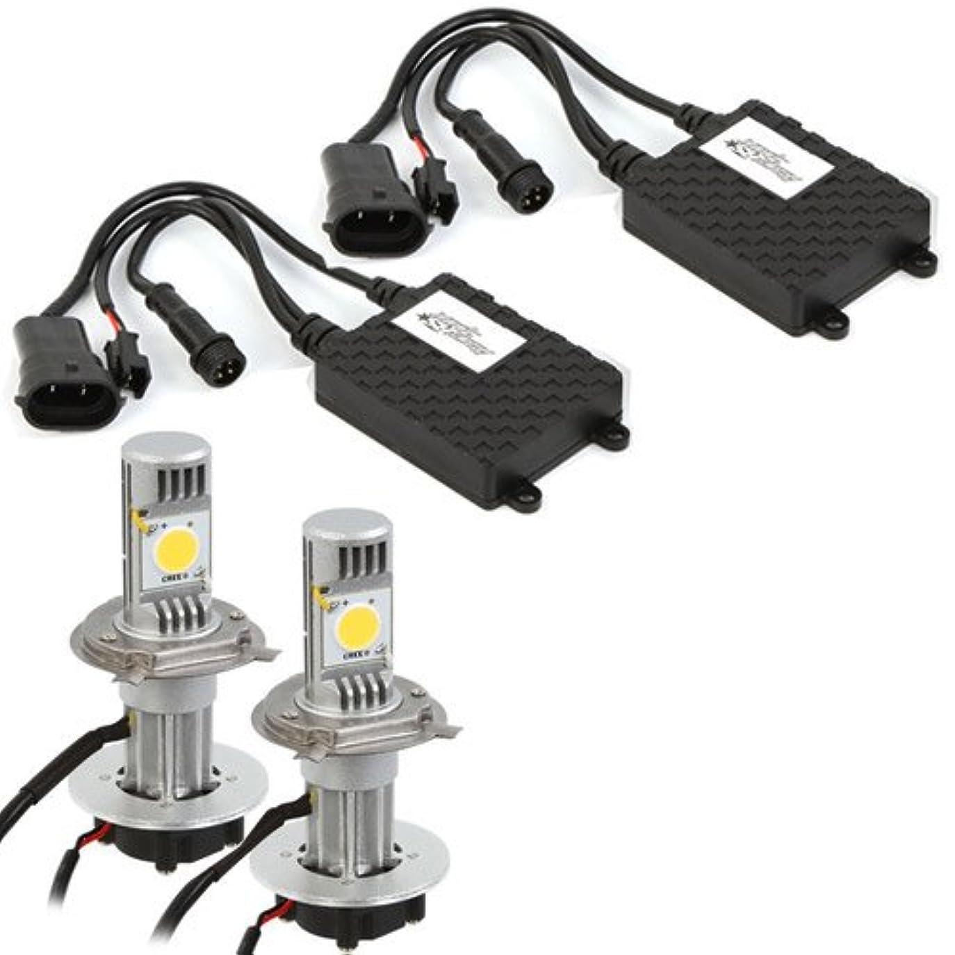 南アメリカ味付け富Race Sport H7-LED-G1-KIT Race Sport H7 LED Headlight Conversion - Black