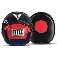 タイトルボクシング速度ミット、ブラック/レッド/ブルー