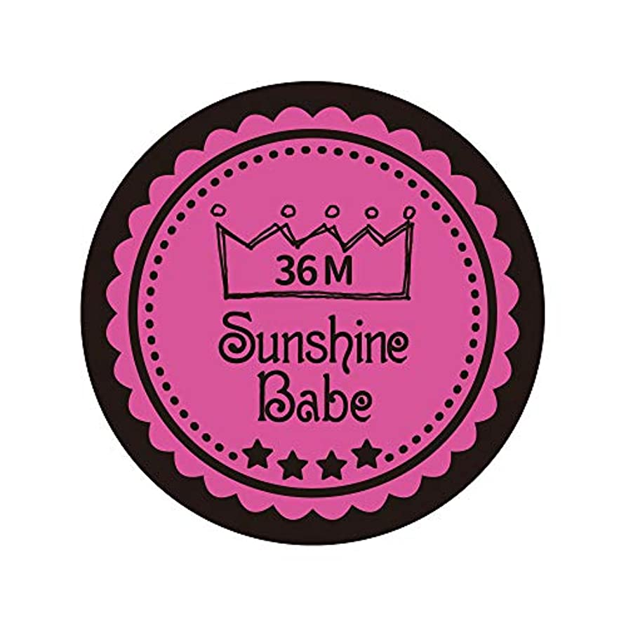 Sunshine Babe カラージェル 36M クロッカスピンク 4g UV/LED対応