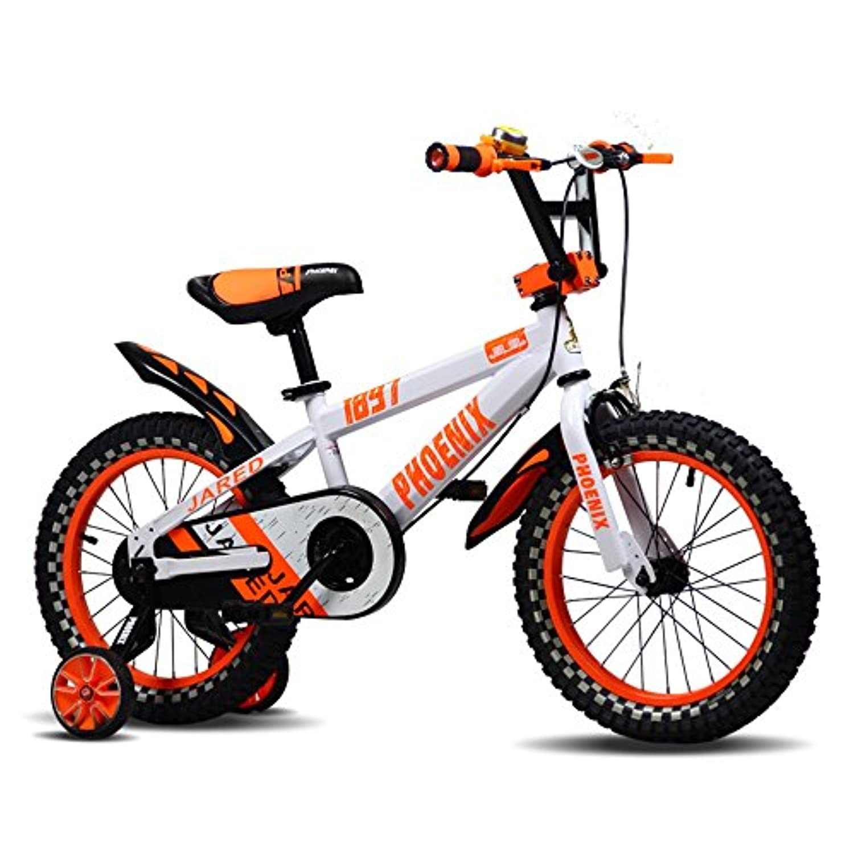 YANFEI 子ども用自転車 子供用自転車12インチの男の子と女の子が青と黒のスタビライザーで アルミニウムキャリパーブレーキとバックペダルブレーキセキュリティパッケージを含む 子供用ギフト