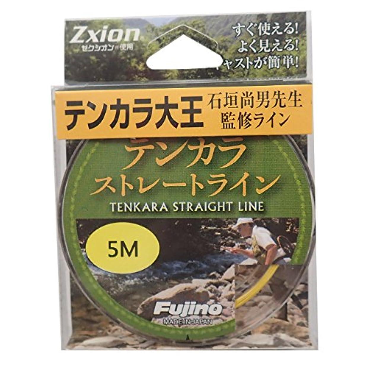 首相小麦粉雇用者Fujino(フジノ) テンカラライン テンカラストレートライン ゼクシオン(ポリアリレート)?ナイロン 4.5m イエロー K-26