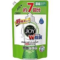 【大容量】 除菌ジョイ コンパクト 食器用洗剤 緑茶の香り 超特大 1065ml