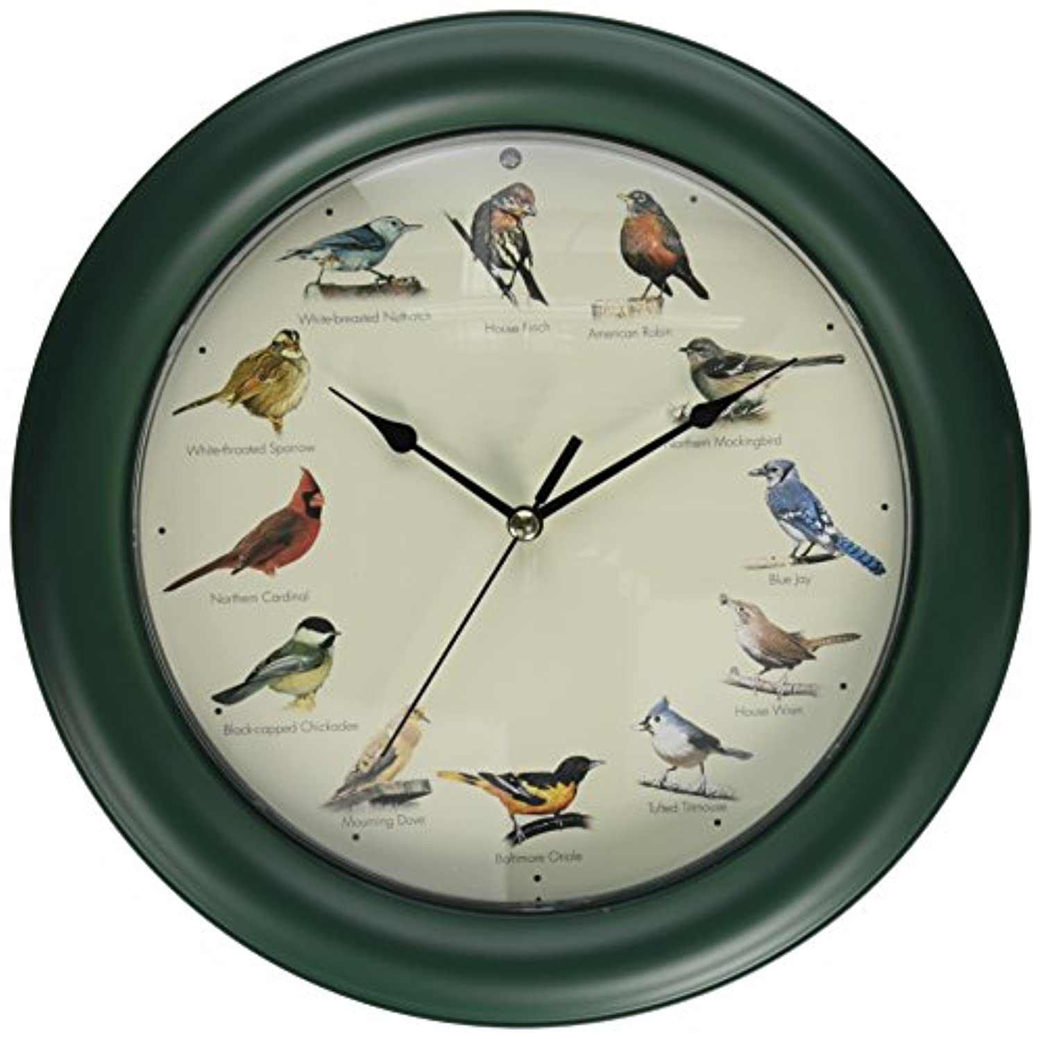 鳥の鳴き声時計 Mark Feldstein Original Singing Bird Clock