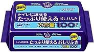 アクティ トイレに流せる たっぷり使えるおしりふき 100枚×24パック